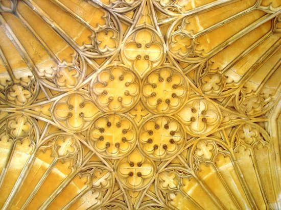 Tewkesbury Abbey: The ceiling