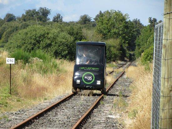 Railcruising:                   On the way back