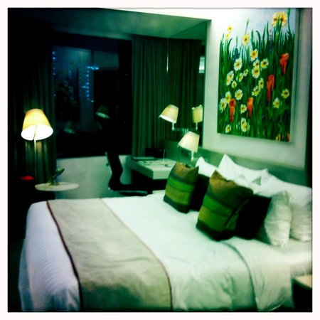 Wangz Hotel:                   Overall room