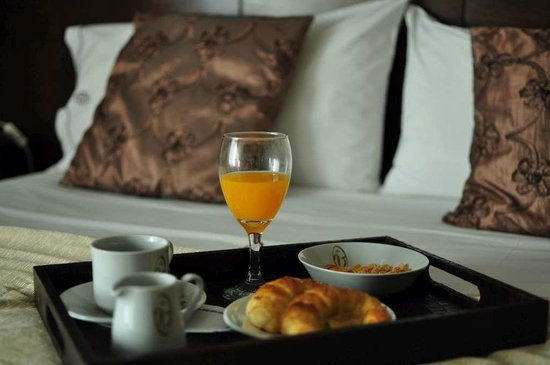 Le Vitral Baires Boutique Hotel: Breakfast in the room