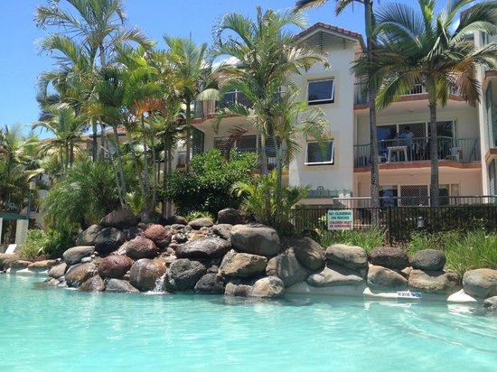 Grande Florida Beachside Resort:                   Grande Florida tri level Units
