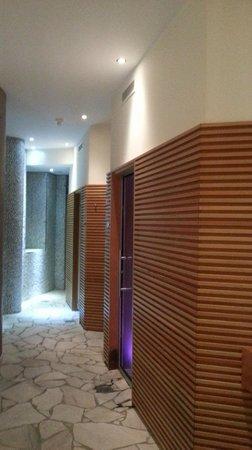 Parkhotel Luna Mondschein:                   spa con sauna e bagno turco