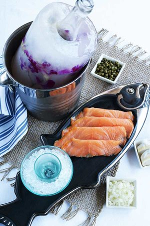 Sip Wine Bar: Smoked Salmon a la Royale