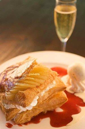"Sip Wine Bar: Feuillete of Pear ""Michel Guerard"""