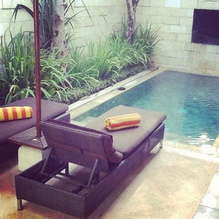 Sun Island Villas & Spa:                                     our beautiful private pool