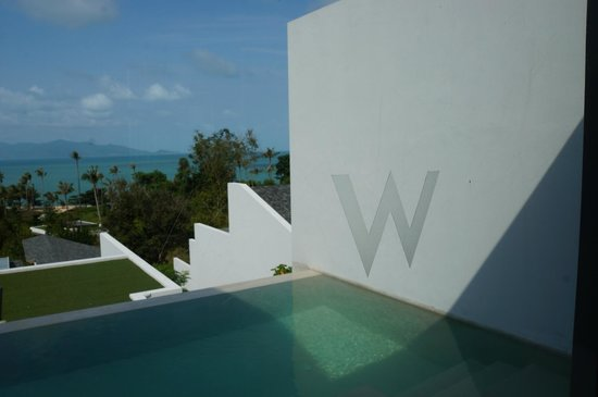 W Retreat Koh Samui:                                     房間景致