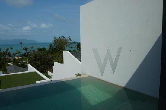 ดับเบิ้ลยู รีทรีท เกาะสมุย:                                     房間景致