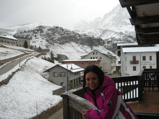 Alpenrose Hotel:                   visuale