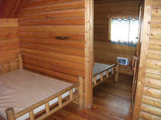 Placerville KOA:                   Two room Kabin #108.