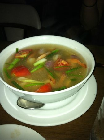Sita Beach Resort & Spa: Tom Yam Soup! So delicious!