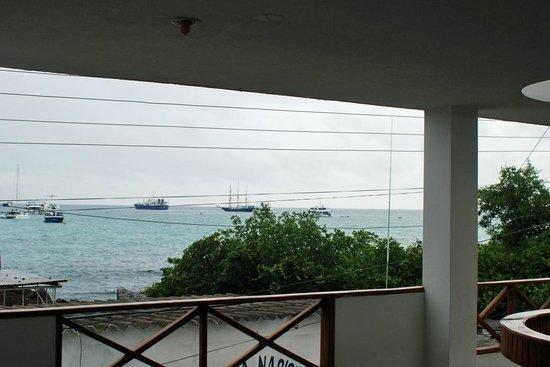 Grand Hotel Lobo de Mar:                   Grandhotel Lobo del Mar: Blick von der Terrasse