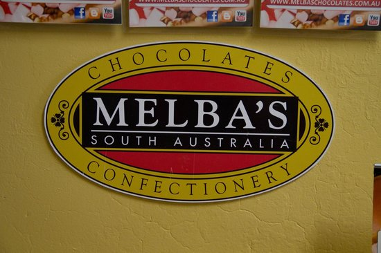 Melba's Chocolate & Confectionery:                   Melbas Chocolate factory