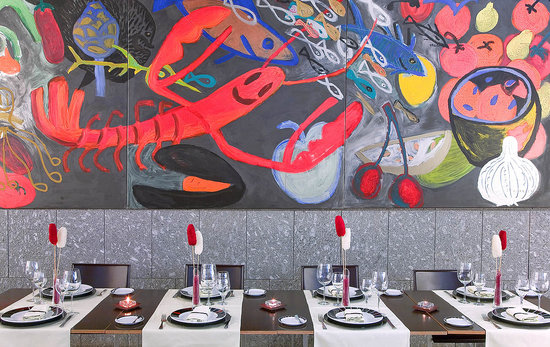 Silken Puerta Valencia: Restaurante