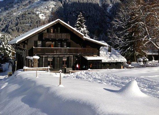 The Auberge du Grand Paradis:                                     auberge