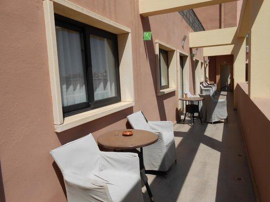 Dellarosa Hotel Suites & Spa:                   outside the room - no privacy