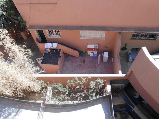 Dellarosa Hotel Suites & Spa:                   View - into someones home