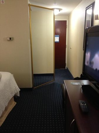 Hampton Inn Dulles-Cascades: spacious