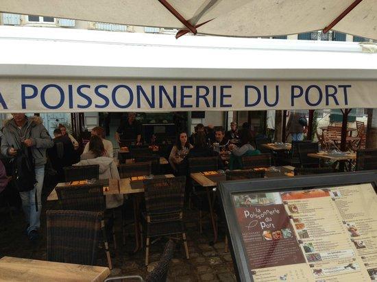 La Poissonnerie du Port : La Terrase