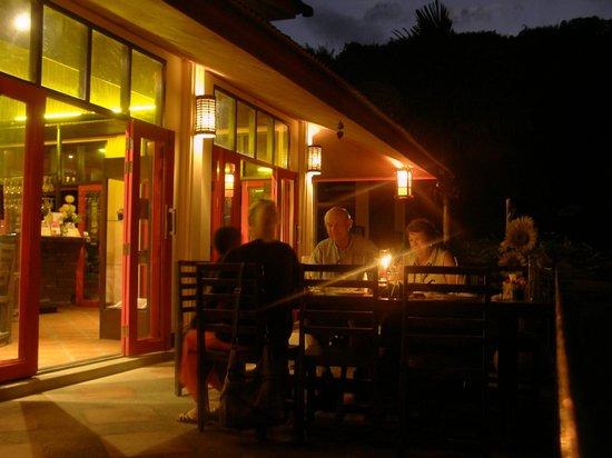 Anantapura Restaurant:                                     Evening Ambiance