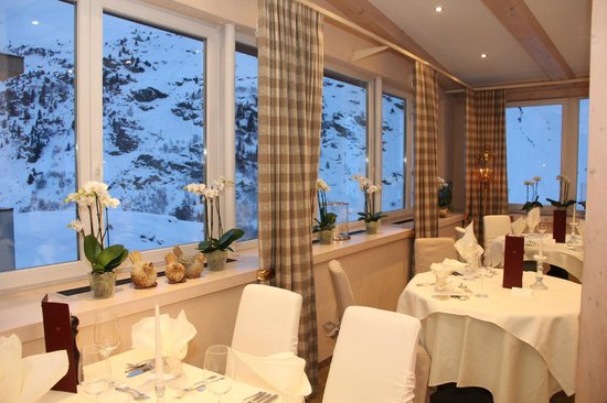 Hotel Bergwelt: Panoramarestaurant