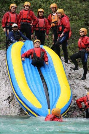 Bovec Rafting Team: more fun :)