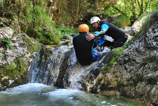 Bovec Rafting Team: canyoning in Susec