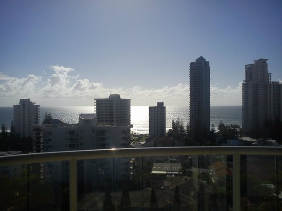 Crowne Plaza Surfers Paradise:                   11th floor, balcony view