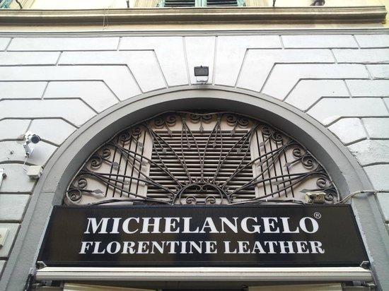 FlorenceTown: Michelangelo Florentine Leather