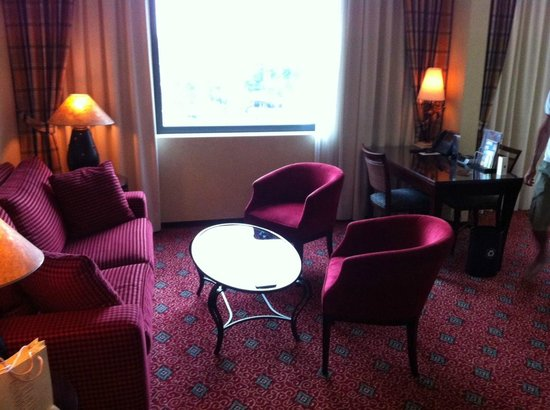 Sheraton Grand Krakow: Suite junior
