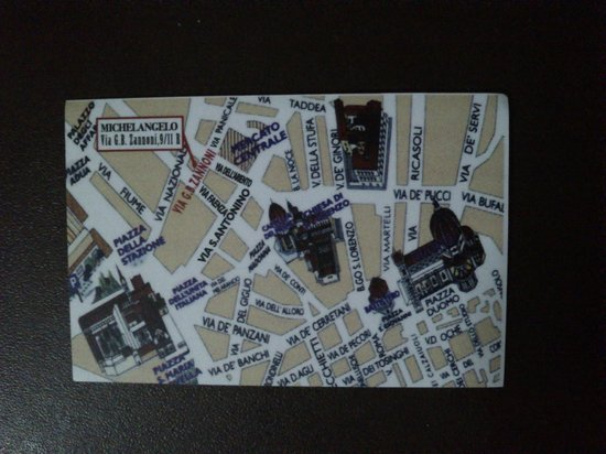 FlorenceTown: The map