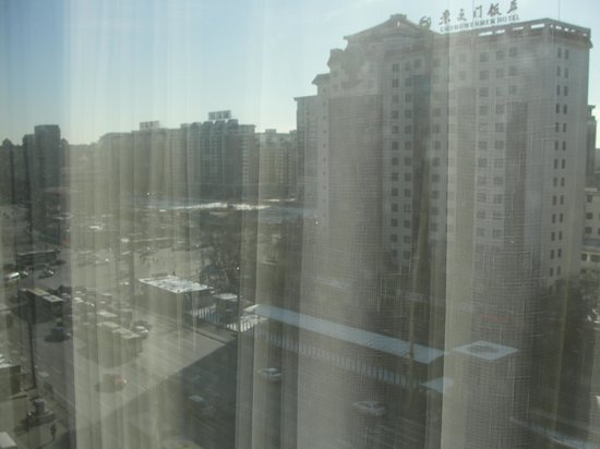 Novotel Xinqiao Beijing:                   Outside hotel window