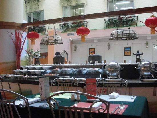 Novotel Xinqiao Beijing:                   Buffet