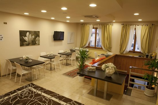 Hotel Centro - Campi Bisenzio: panoramica hall