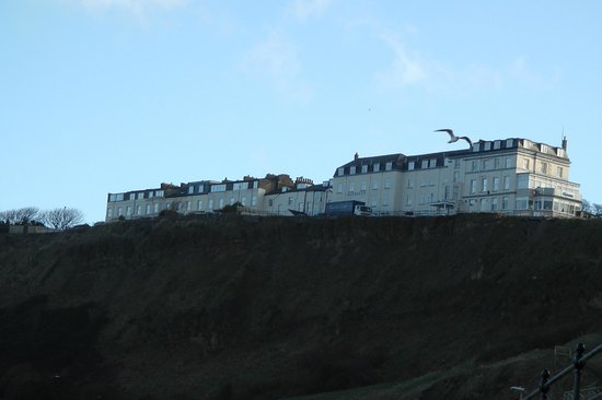 Bay Norbreck Hotel:                   Hotel from the beach