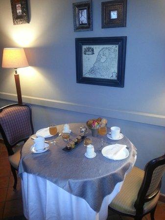 Le Logis Saint Martin: Le petit déjeuner