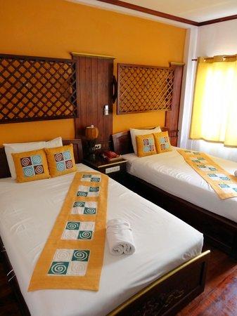 Vang Thong Hotel: Notre chambre.