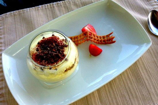 Taj Exotica Resort & Spa: The best tiramisu in the world