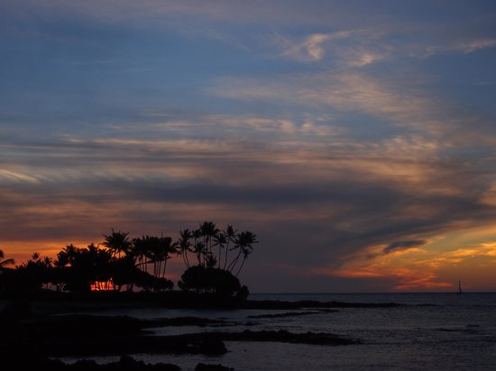 The Fairmont Orchid, Hawaii:                   Just one of many amazing sunsets