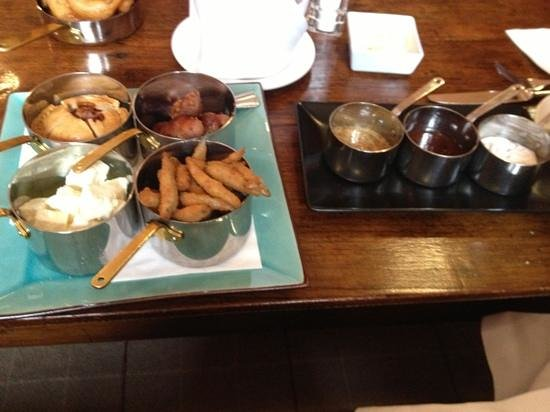 Rudding Park Hotel: tapas lunch