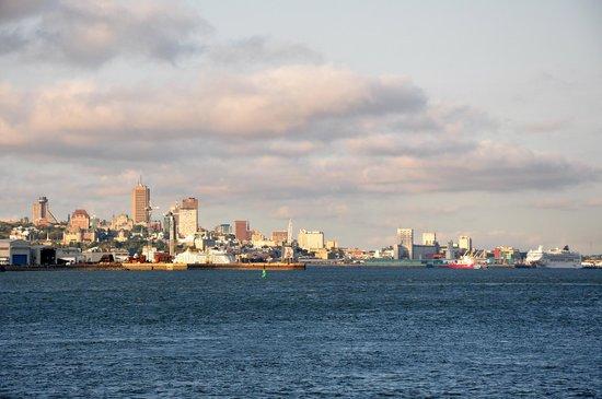 Auberge la Goeliche : Magnifique vue sur Québec