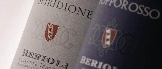Cantina Berioli: Le etichette dei Vini Rossi della Cantina Berioli