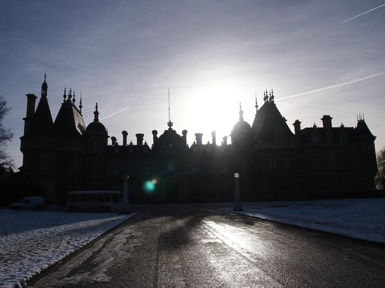 Waddesdon Manor:                   An amazing building