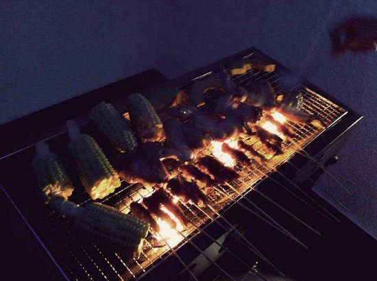 Bunc Hostel: BBQ time!