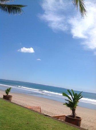 The Legian Bali:                   view