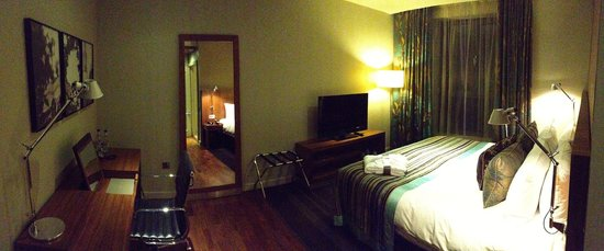 Apex London Wall Hotel: Room panorama