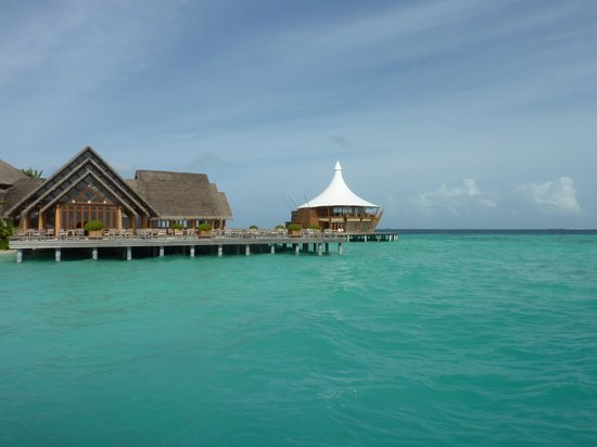Baros Maldives:                   breakfast