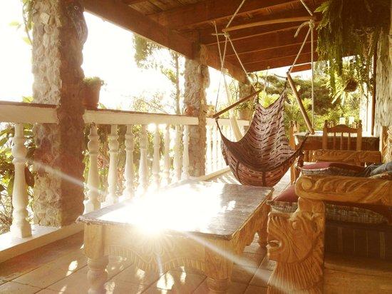 La Casa del Mundo Hotel: Relaxation areas