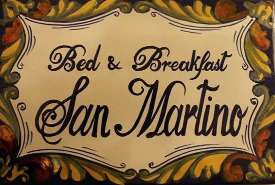 BeB San Martino: Insegna
