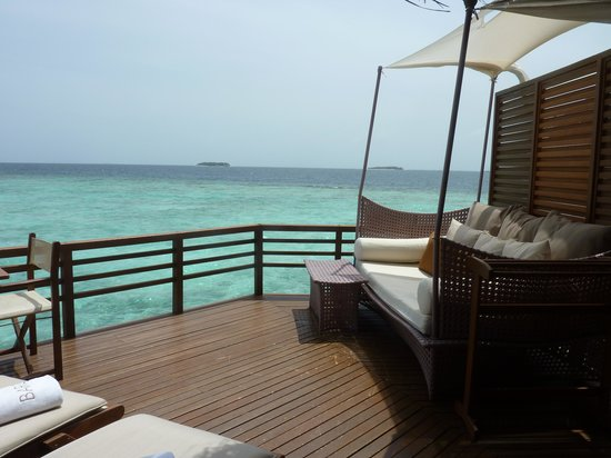 Baros Maldives:                   water villa
