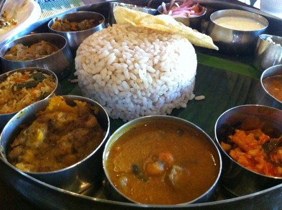 Marari Beach Resort:                   Curry